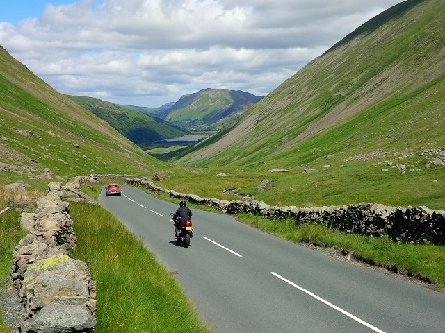 Kirkstone Pass towards Brothers Water